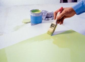 Βάψιμο: Ξύλινων επιφανειών