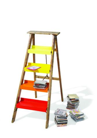Από σκάλα… ραφιέρα!