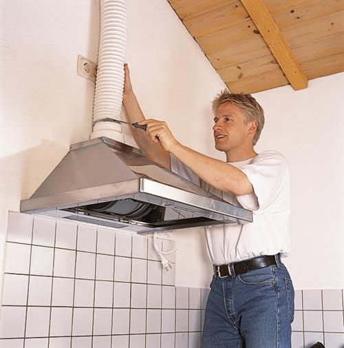 Kαθαρός αέρας στην κουζίνα - Μαστορέματα