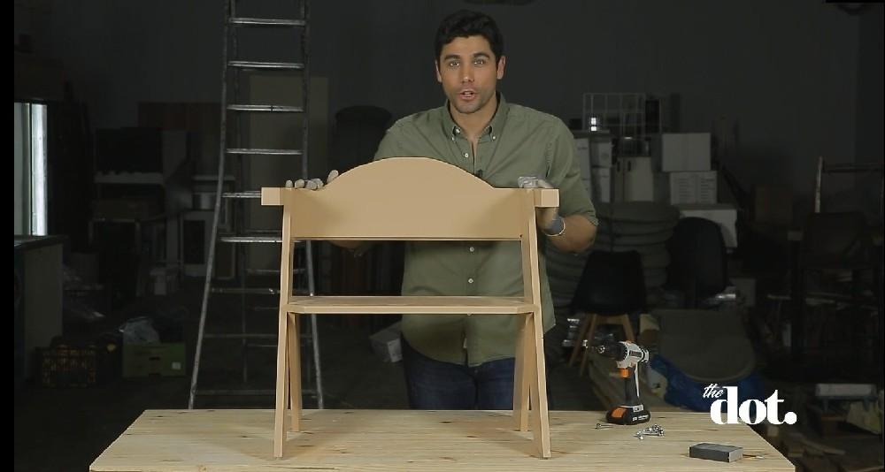 Ξύλινη πολυθρόνα - Μαστορέματα