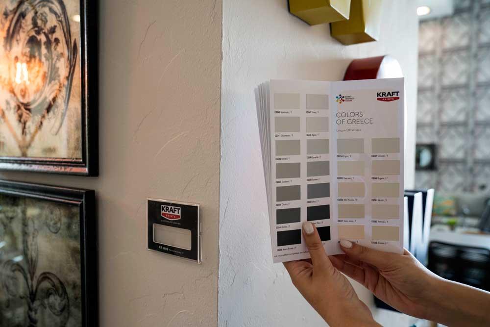 Νέα δωρεάν υπηρεσία από την Kraft Paints στα καταστήματα BoConcept - Μαστορέματα